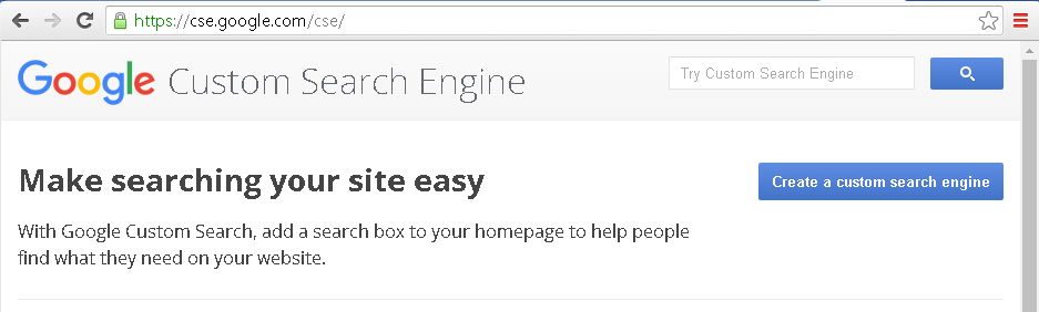 Webometric Analyst - Google Custom Search Registration
